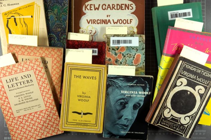 woolf-books-pile