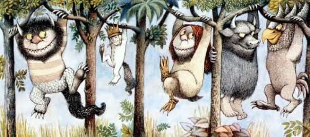 "LV.0912.Kidcal16-- ""Where the Wild Things Are: Maurice Sendak in His Own Words and Pictures"" begins Friday at the Skirball Cultural Center. Image is for California Classroom for Monday, Sept. 16. COURTESY OF Courtesy of The Maurice Sendak Archive, The Rosenbach Museum & Library.  PLEASE NOTE: THE MUSEUM SAYS THE WORDS ""THE"" SHOULD HAVE INITIAL CAPS."