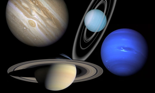 what four planets have rings - photo #3