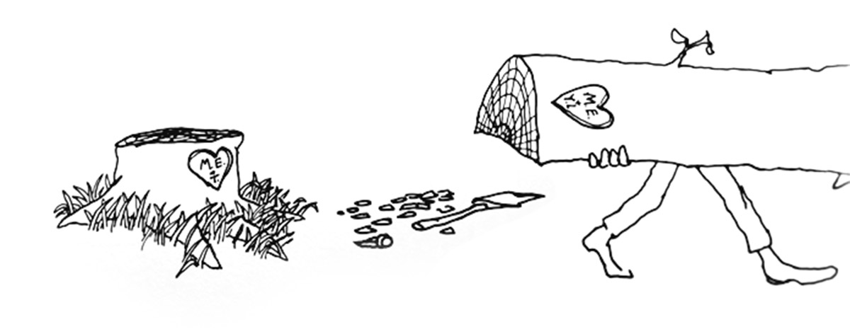 Shel Silverstein Illustrations: A Story About Giving, Sacrifice And Finding One's